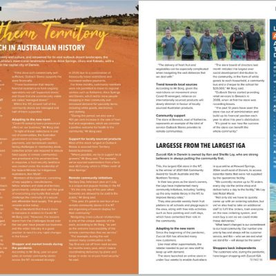 Outback Stores featured in Retail World Magazine